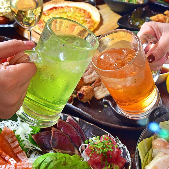 天神にある飲み放題がお得な居酒屋【炭火焼鳥酒家 ごちや 天神店】